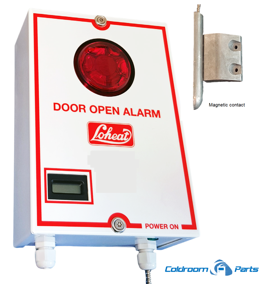Door open alarm